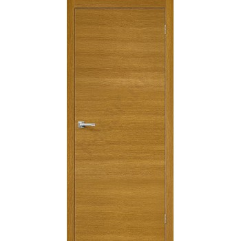 Межкомнатная дверь Вуд Флэт-0V1 - в цвете Natur Oak H (Товар № ZF47229)