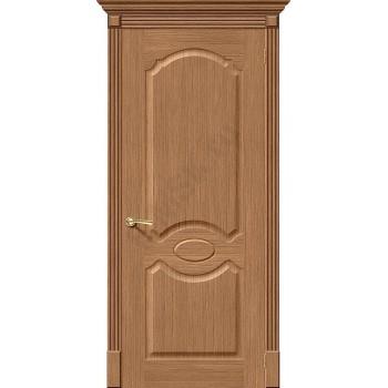Межкомнатная дверь шпонированная Селена в цвете Ф-02 (Дуб) (Товар № ZF47155)
