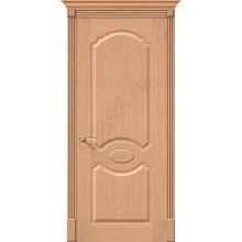 Межкомнатная дверь шпонированная Селена в цвете Ф-01 (Дуб) (Товар № ZF47159)