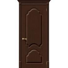 Межкомнатная дверь шпонированная Афина в цвете Ф-27 (Венге) (Товар № ZF47131)