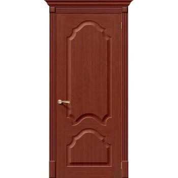 Межкомнатная дверь шпонированная Афина в цвете Ф-15 (Макоре) (Товар № ZF47127)