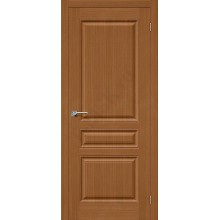 Межкомнатная дверь шпонированная Статус-14 в цвете Ф-11 (Орех) (Товар № ZF47173)