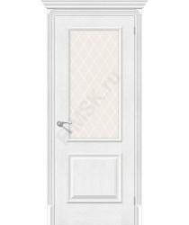Межкомнатная дверь экошпон Межкомнатная дверь Классико-13 (new) в цвете Royal Oak остекленная (Товар № ZF46961)