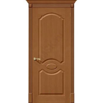 Межкомнатная дверь шпонированная Селена в цвете Ф-11 (Орех) (Товар № ZF47165)