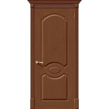 Межкомнатная дверь шпонированная Селена в цвете Ф-12 (Орех) (Товар № ZF47169)
