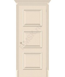 Межкомнатная дверь экошпон Классико-16 в цвете Ivory (Товар № ZF46965)