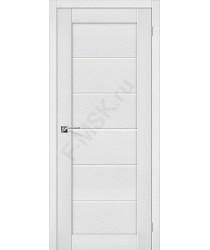 Межкомнатная дверь экошпон Межкомнатная дверь Легно-22 в цвете Virgin остекленная (Товар № ZF46987)