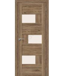 Межкомнатная дверь экошпон Межкомнатная дверь Легно-39 в цвете Original Oak остекленная (Товар № ZF46997)