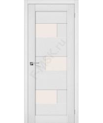 Межкомнатная дверь экошпон Межкомнатная дверь Легно-39 в цвете Virgin остекленная (Товар № ZF46995)