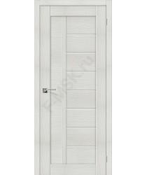 Межкомнатная дверь экошпон Серия Porta X Порта-26 в цвете Bianco Veralinga (Товар № ZF47011)