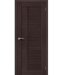 Межкомнатная дверь экошпон Серия Porta X Порта-26 в цвете Wenge Veralinga (Товар № ZF47015)
