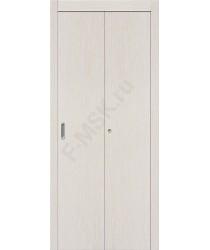 Межкомнатная дверь гармошка серии Legno Гост в цвете Л-21 (БелДуб). (Товар № ZF47301)