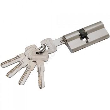 Цилиндр Ключ-ключ Apecs SM-70 в цвете NI Никель. (Товар № ZF460)