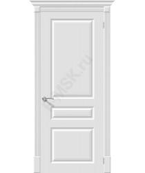 Дверь эмаль Скинни-14 в цвете Whitey (Товар № ZF204)