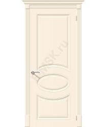 Дверь эмаль Скинни-20 в цвете Cream (Товар № ZF55601)