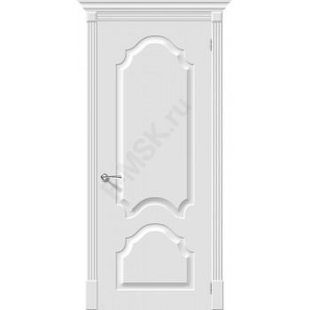 Дверь эмаль Скинни-32 в цвете Whitey (Товар № ZF208)