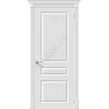 Дверь эмаль Скинни-14 Аrt в цвете Whitey (Товар № ZA55643)