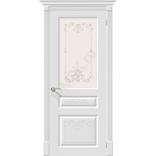 Дверь эмаль Скинни-15.1 Аrt в цвете Whitey (Товар № ZA55623)