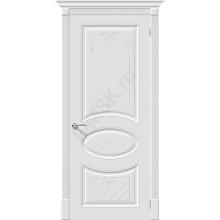 Дверь эмаль Скинни-20 Art в цвете Whitey (Товар № ZA55646)