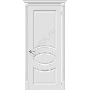 Дверь эмаль Скинни-20 в цвете Whitey (Товар № ZA55626)