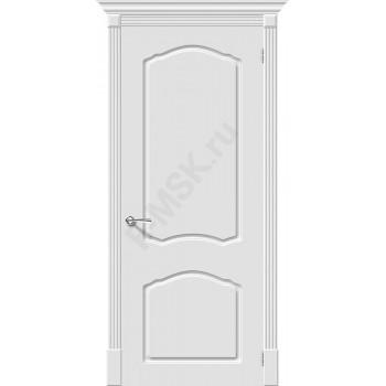 Дверь эмаль Скинни-30 в цвете Whitey (Товар № ZA55627)