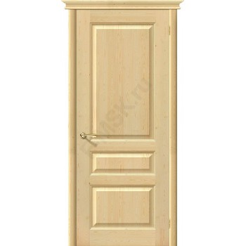 Дверь из массива без отделки М5 в цвете Без отделки. (Товар № ZF120)
