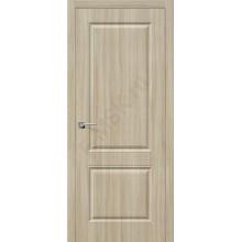 Дверь ПВХ Скинни-12 в цвете П-34 (Шимо Светлый). (Товар № ZF140)