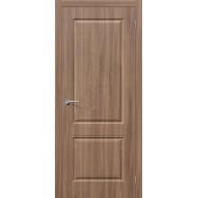 Дверь ПВХ Скинни-12 в цвете П-35 (Шимо Темный). (Товар № ZF142)