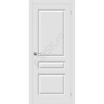 Дверь ПВХ Скинни-14 в цвете П-23 (Белый). (Товар № ZF152)