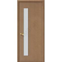 Дверь строительная Гост ПО-1 в цвете МДФ остекленная. (Товар № ZF30)