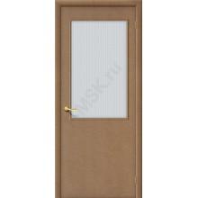 Дверь строительная Гост ПО-2 в цвете МДФ остекленная. (Товар № ZF22)