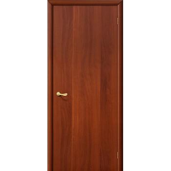 Дверь строительная Гост в цвете Л-11 (ИталОрех). (Товар № ZF8)
