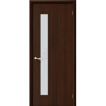 Дверь строительная Гост ПО-1 в цвете Л-13 (Венге) остекленная. (Товар № ZF2)