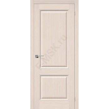Дверь шпонированная Статус-12 в цвете Ф-20 (БелДуб) (Товар № ZF86)