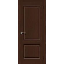 Дверь шпонированная Статус-12 в цвете Ф-27 (Венге) (Товар № ZF88)
