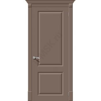 Дверь эмаль Скинни-12 в цвете Mocca (Товар № ZF74)