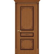 Дверь шпонированная Серии Стандарт Классика в цвете Ф-11 (Орех) (Товар № ZF108)