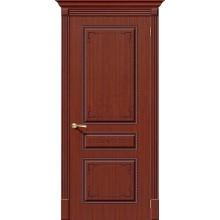 Дверь шпонированная Серии Стандарт Классика в цвете Ф-15 (Макоре) (Товар № ZF112)