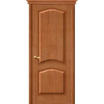 Межкомнатная дверь из Массива М7 ПГ светлый лак Белорусские двери Цвет: Светлый лак Глухая (Товар №  ZF1166)