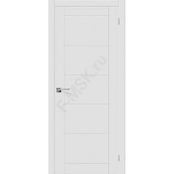 Дверь эмаль Скинни-4 в цвете Whitey (Товар № ZF107693)