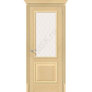 Дверь из массива без отделки Классико-13 в цвете Без отделки остекленная. (Товар № ZF111535)