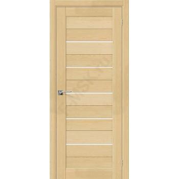 Дверь из массива без отделки Порта-22 в цвете Без отделки остекленная. (Товар № ZF111537)