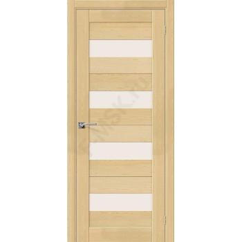 Дверь из массива без отделки Порта-23 в цвете Без отделки остекленная. (Товар № ZF111538)