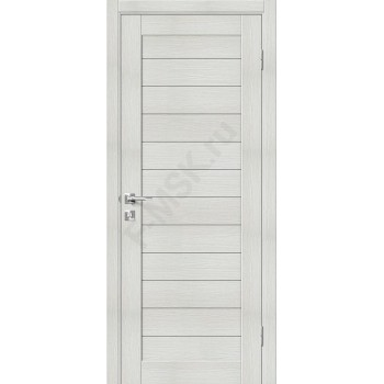 Дверь экошпон Порта-21 (1П-02) в цвете Bianco Veralinga (Товар № ZF111548)