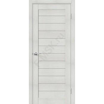 Дверь экошпон Порта-21 (1П-03) в цвете Bianco Veralinga (Товар № ZF111551)