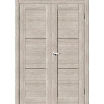 Дверь экошпон Порта-21 (2П-03) в цвете Cappuccino Veralinga (Товар № ZF111555)