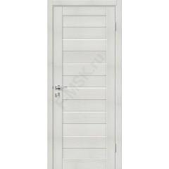 Дверь экошпон Порта-22 (1П-02) в цвете Bianco Veralinga остекленная (Товар № ZF111557)
