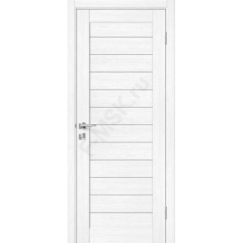 Дверь экошпон Порта-21 (1П-02) в цвете Snow Veralinga (Товар № ZF113979)