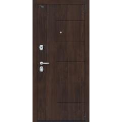 Входная металлическая дверь Браво Porta S 9.П29 (Модерн) в цвете Almon 28 / Cappuccino Veralinga |Полотно 90 мм, Металл 1.2 мм, Вес 82 кг (Товар № ZF193366)