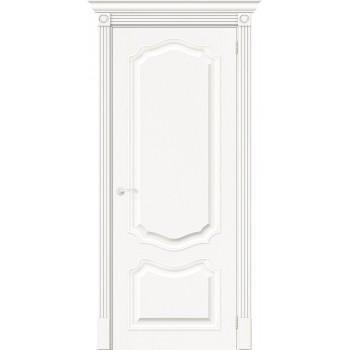 Дверь межкомнатная шпонированная (шпон натуральный) Вуд Классик-52 Whitey глухая (Товар № ZF193411)